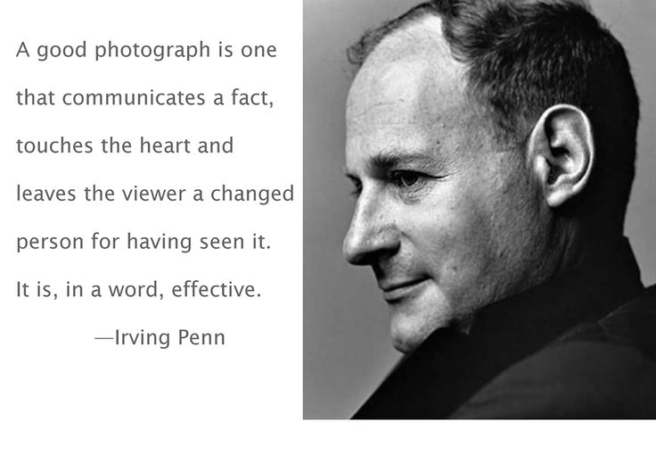 irving penn with type