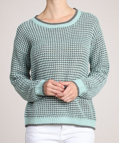 Take a look at this Ivory & Light Gray Sweater on zulily today!