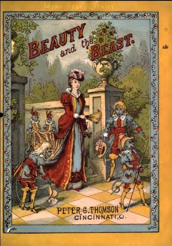Beauty and The Beast (Illustrated Edition) (Classic Books for Children Book 19) by [de Villeneuve, Gabrielle-Suzanne Barbot]