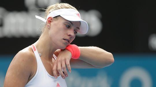 Kerber verpatzt Generalprobe für Australian Open