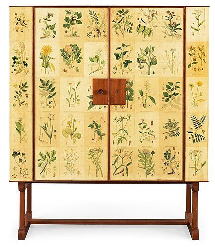 botanical cabinet (Josef Frank) good decoupage project