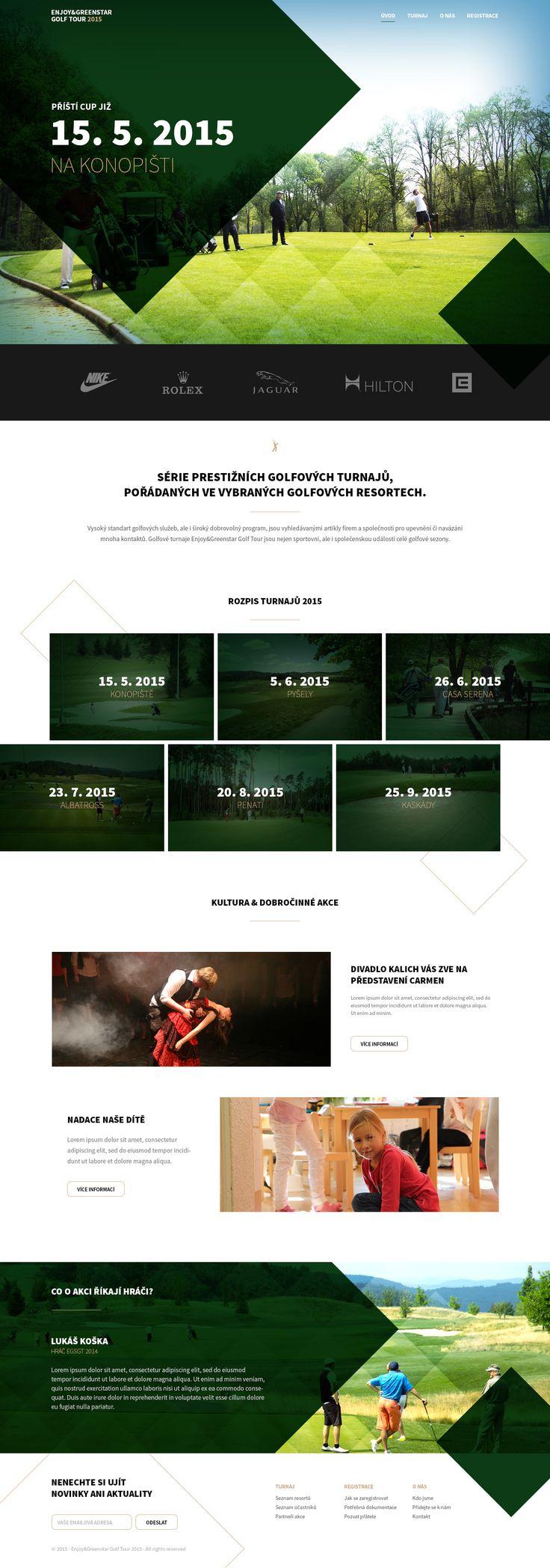 Golf_homepage_1 by Lukas Zajic