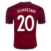Ricardo Quaresma 20 2018 World Cup Portugal Home Soccer Jersey