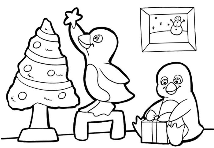 coloring pages of christmas penguins - 62 best coloring pages images on pinterest coloring