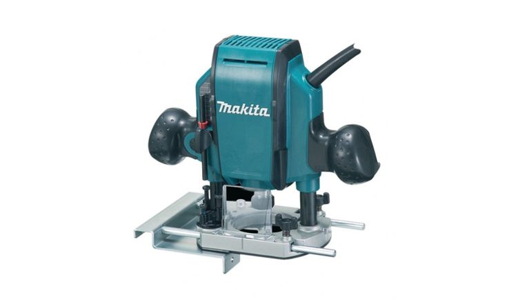 Plunge Router (3/8'') 860W - High durability and excellent design router.