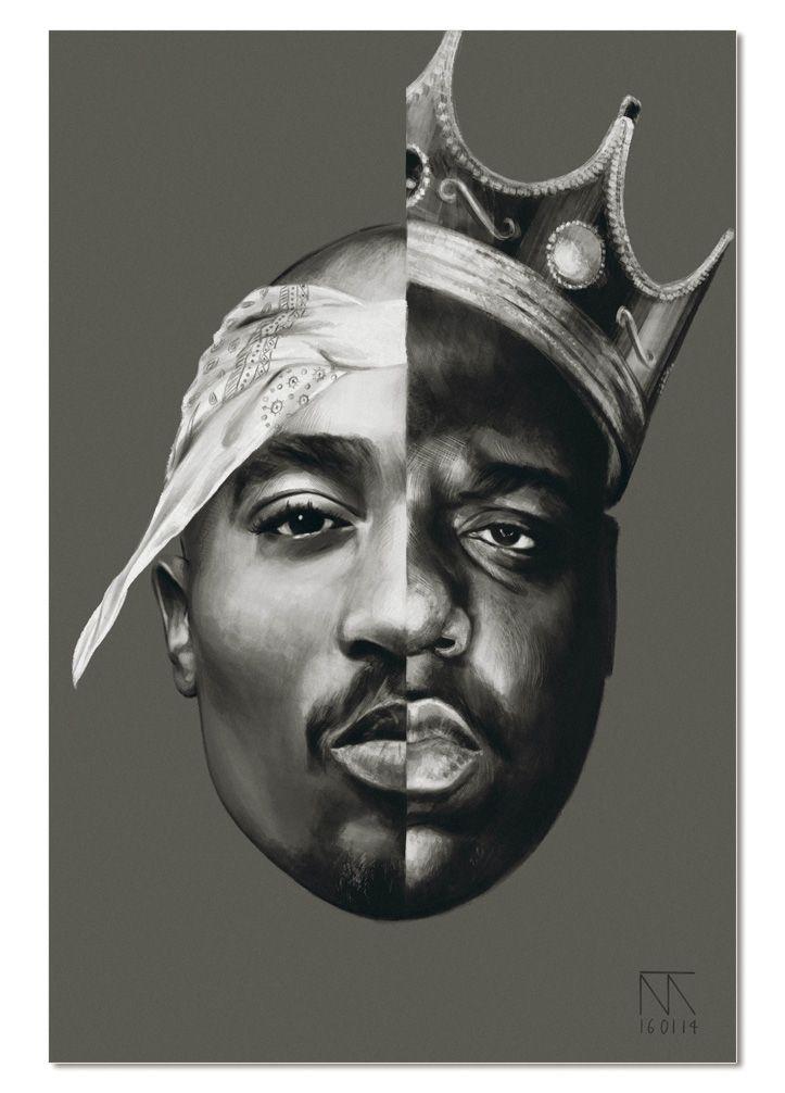 Item Supreme Quality Print On Acrylic Glass Panel Face Image High Definition High Resolution Size 120x80 Biggie Smalls Art Tupac Wallpaper Tupac Art