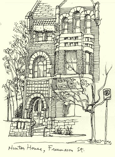 41 best House drawings images on Pinterest House drawing, Coloring - best of row house coloring pages