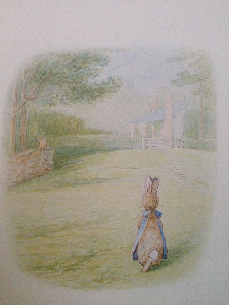Beatrix Potter - who didn't love Peter Rabbit??