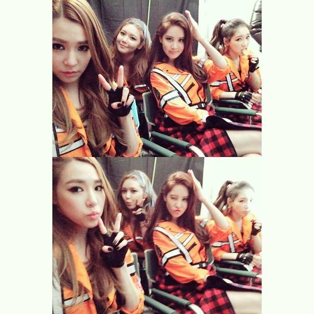 Tiffany, Sooyoung, Seohyun, and Taeyeon