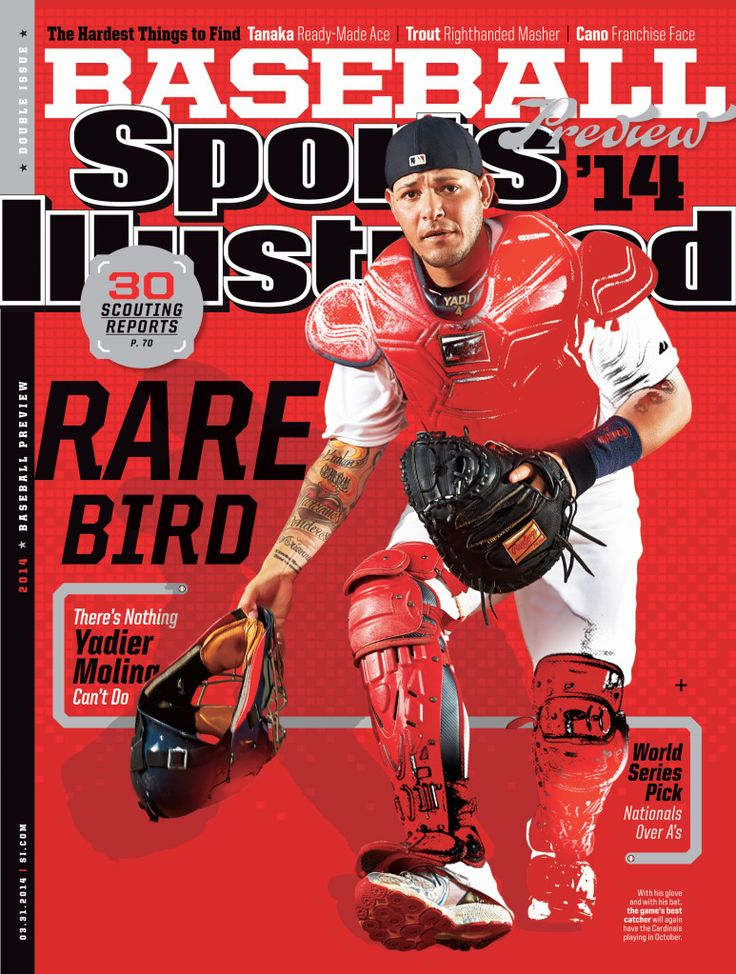 Yadi on the Cover of SI :)
