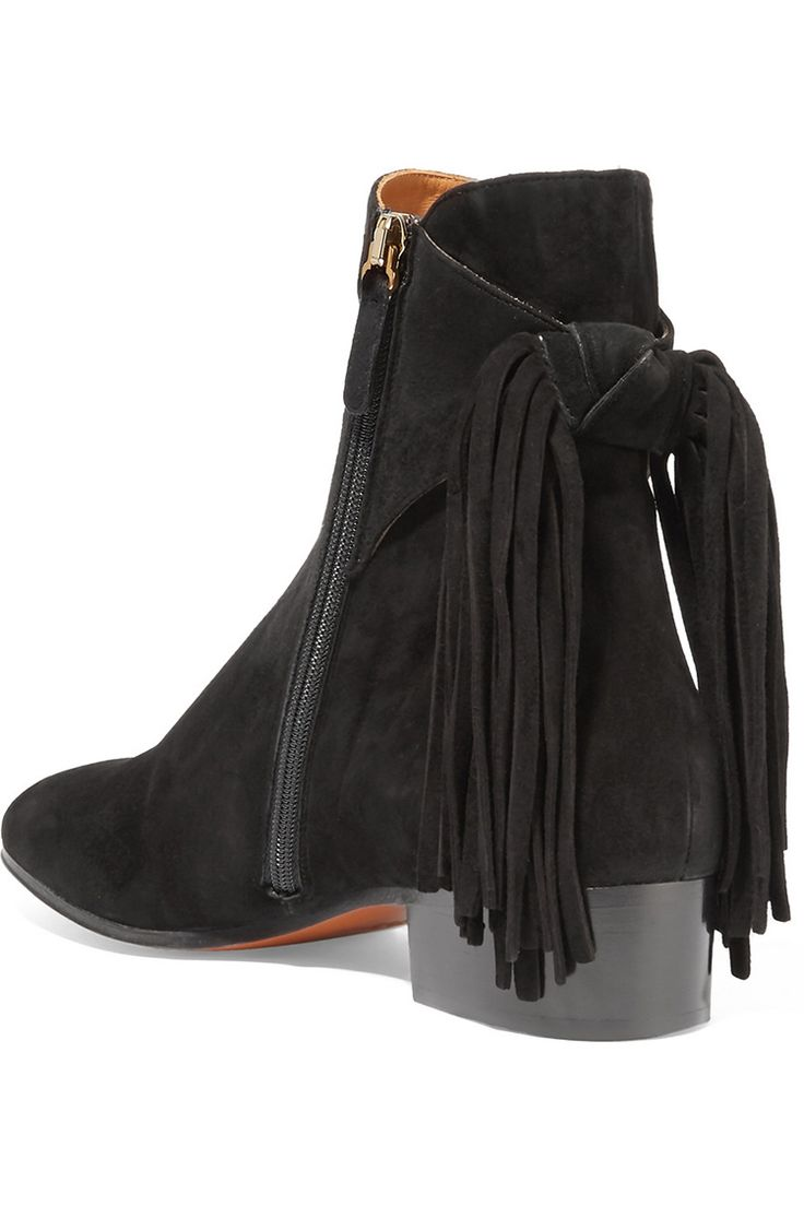 fringed booties are the perfect way to complete any look! check out my 5 favorites on jojotastic.com