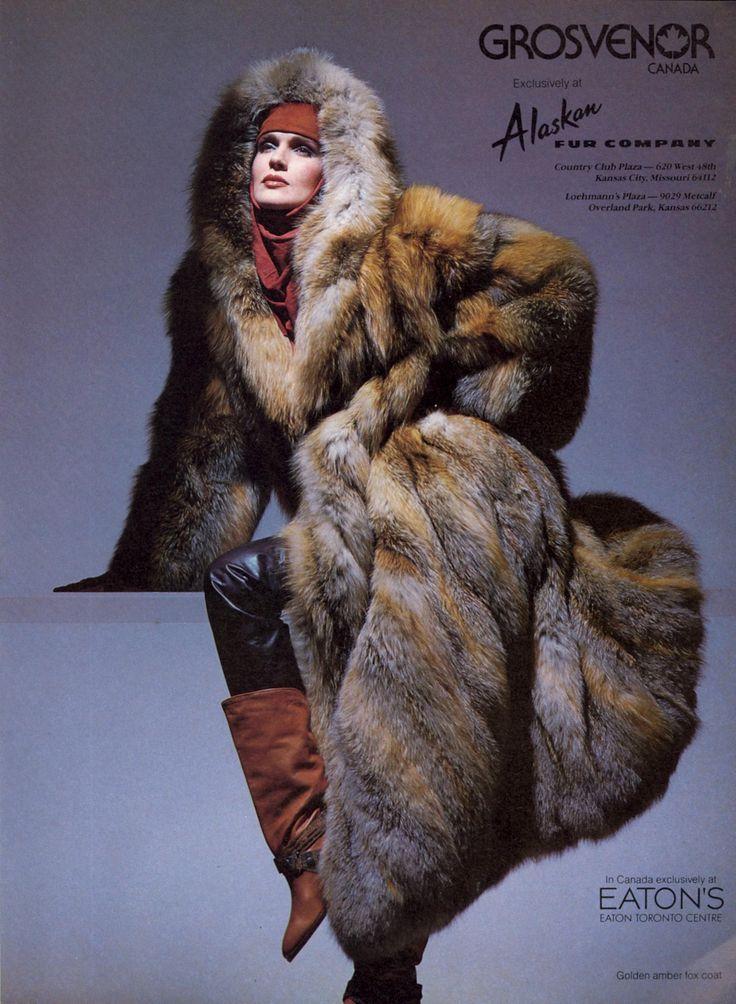 Grosvenor Canada 1985 US Vogue September 1985 Photo Victor ...