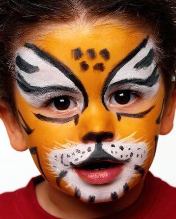 ber ideen zu tiger schminken auf pinterest kinderschminken tiger gepardenmuster. Black Bedroom Furniture Sets. Home Design Ideas