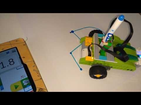 (13) LEGO WeDo 2.0: Turtle Graphics #3 (Programmierung) - YouTube