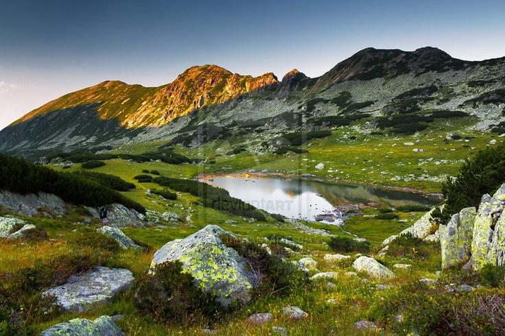 Stanisoara Lake, Romania by moisEdy.deviantart.com