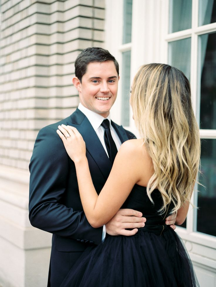 Classically Chic Engagement Session at The Georgian Terrace Hotel