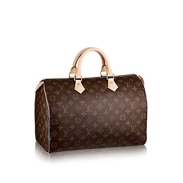Speedy 35 Monogram Canvas - Handbags | LOUIS VUITTON