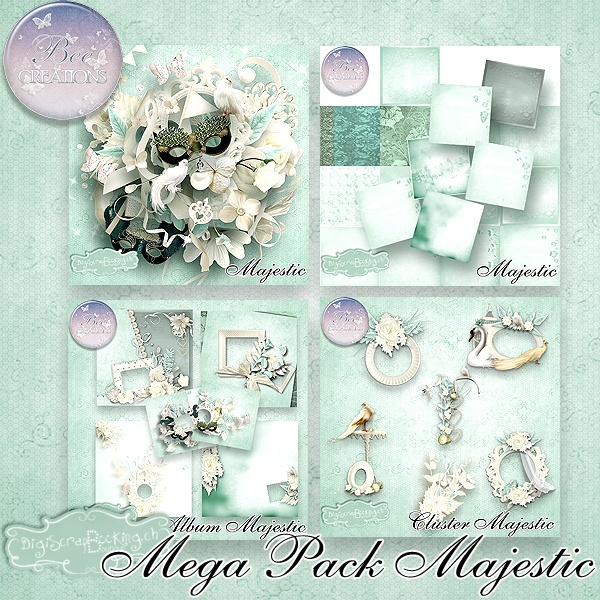 Majestic by Bee Creations  http://www.digiscrapbooking.ch/shop/index.php?main_page=product_info=22_43_id=10127