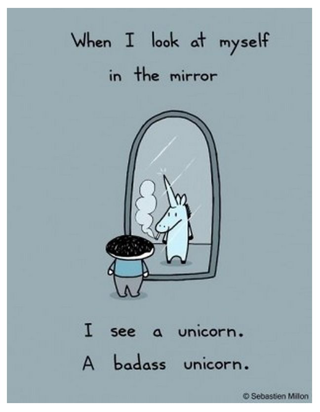 Here are some funny unicorn quotes - because unicorn humor is a truly terrific day brightener!