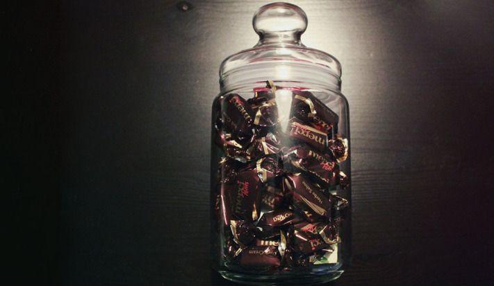 Vorratsglas Schokolade