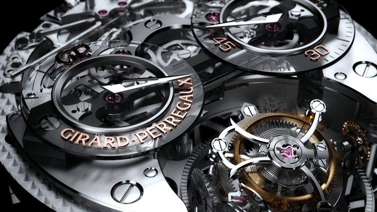 The Girard-Perregaux Minute Repeater Tri-Axial Tourbillon