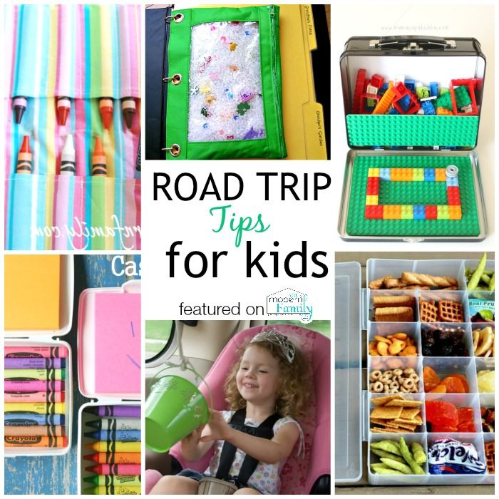 Traveling With Kids Hacks - road trip ideas yourmodernfamily.com