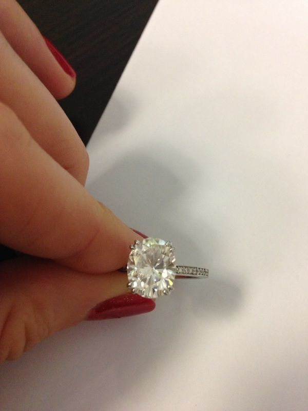 Help! Where can I sell my 3.75 carat custom moissanite ring? - Weddingbee | Page 2