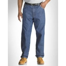 Cheap Riggs Workwear by Wrangler Flame-Resistant Relaxed-Fit Jeans online - Work-tough denim features room2move fit triple needle stitching hidden utility loop reinforced back pockets. 14.5-oz. cotton. Machine wash....