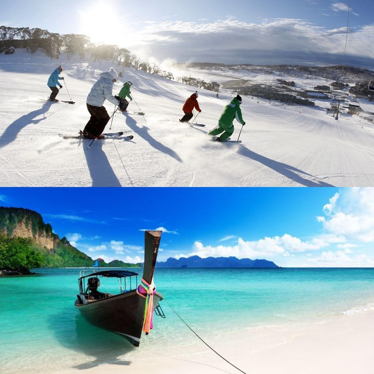 Winter is just around the corner in Australia do you embrace it or travel (escape) to warmer places?
