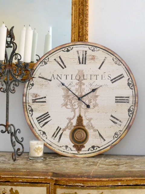 another shabby chic clock