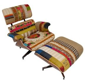 Eames Lounge Chair. Note: These Fabrics Are NOT Standard Eames Or Vitra  Fabrics.