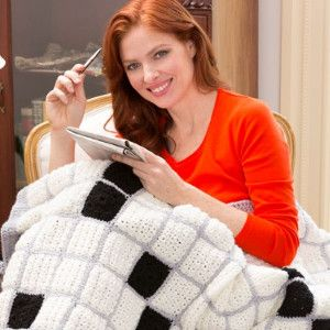 What's a seven-letter word for the best craft around? Crochet, of course! Any crossword fan would adore this Crossword Puzzle Throw.