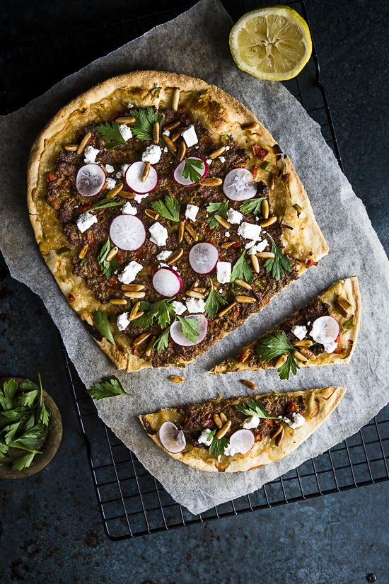 Sips and Spoonfuls: Lahmacun: Turkish Pizza with Spiced Lamb @Sukaina Dinani Rajabali
