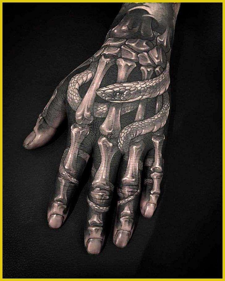 Image Result For Skeleton Hand Tattoo Hand