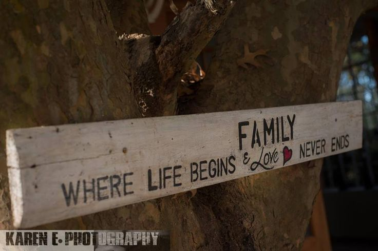 """The Family """"tree note"""" captured by the talented @karenephotos"""