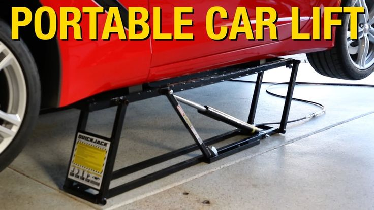 Portable Lift That Can Support Up to 7000 Pounds! QuickJack Car Lift - E...