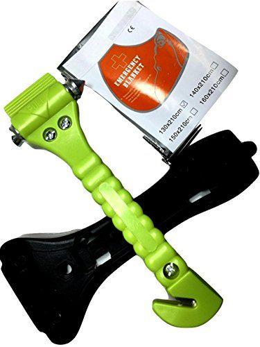 BREAKX(TM) Car Safety Hammer-Window Breaker-Seatbelt Cutt...