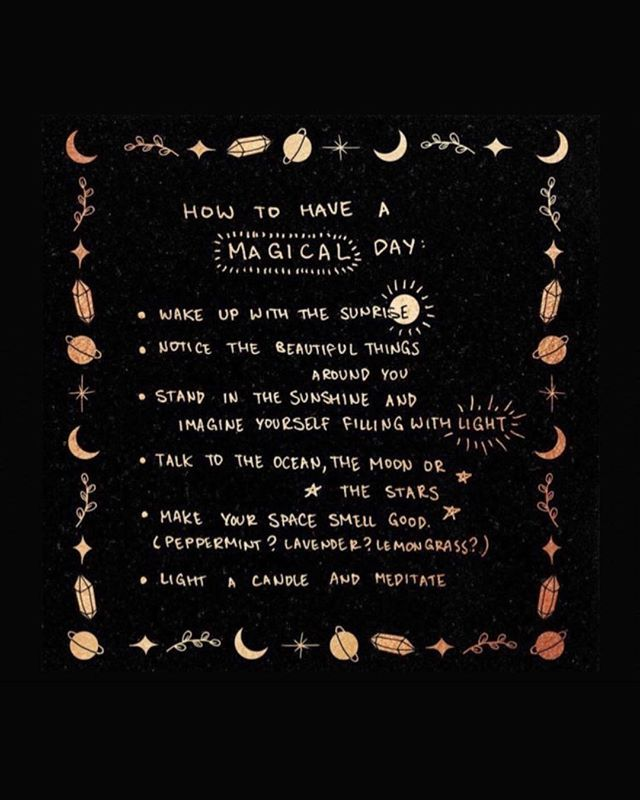 Bohemian Quotes On Instagram How To Have A Magical Day