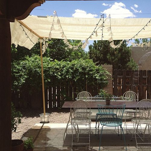 Let S Be Candid Desert Oasis Garden Sun Shade Diy
