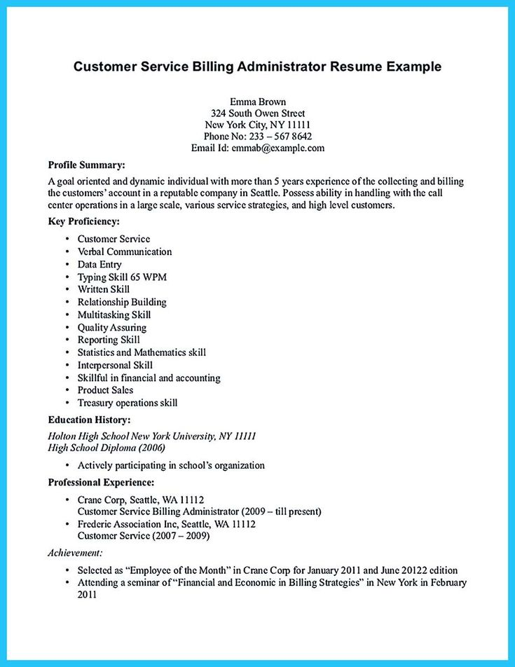 nice Attract Your Employer with Defined Administrator Resume,
