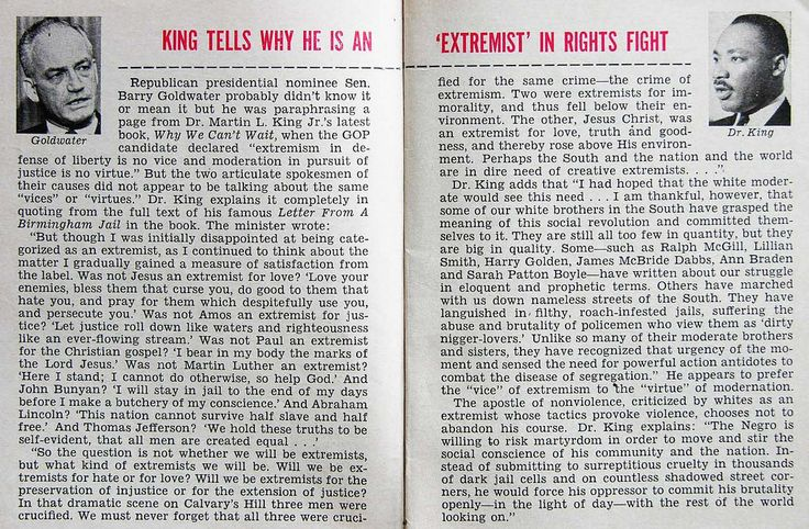 Martin Luther King, Jr Tells Why He Is An Extremist in Civil Rights Fight - Jet Magazine, August 13, 1964 | by vieilles_annonces