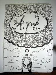 Sketchbook Cover Idea.