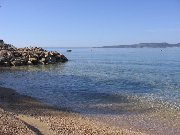 Nádherná chorvatská pláž