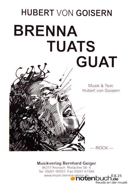 """Der neue Song von Hubert von Goisern! Nach """"a hirtermadl mog i net"""" und """"heast as ned"""", nun der neue Charthit """"Brenna tuats guad"""" vom österreichischen Liedermacher bei uns im Onlineshop erhältlich!"""