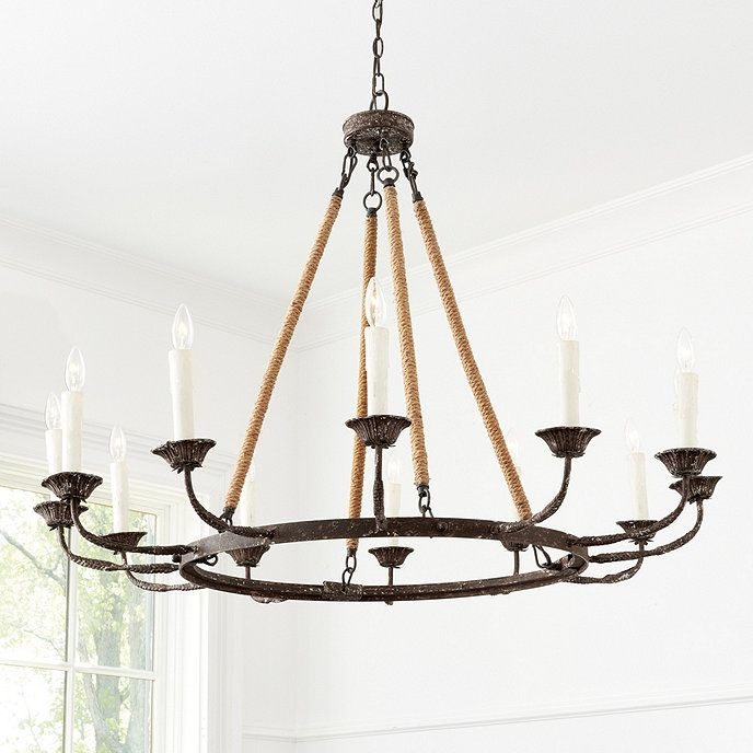 Laurenza 12 Light Chandelier Ballard Designs Chandelier Lighting Chandelier Dripping Candles