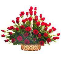 Stunning arrangement of 50 Red Roses  to Bangalore, Karnataka Rs. 1495 / USD 24.92