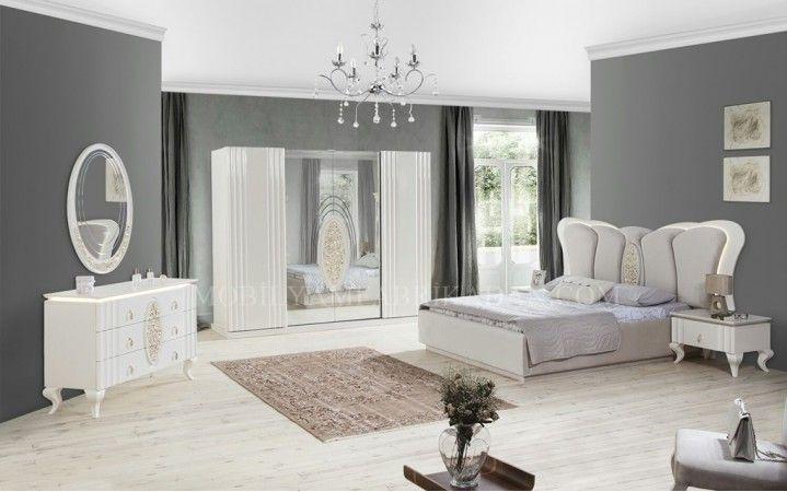 Klasik tasarımı göz alıcı ihtişamı ile sizleri sultan gibi hissettirecek olan Santos Yatak Odası Takımı vazgeçilmeziniz olacak #mobilya #inegöl #dekorasyon #modern #tasarım #yatakodası #klasik #tasarım #ev #yaşam