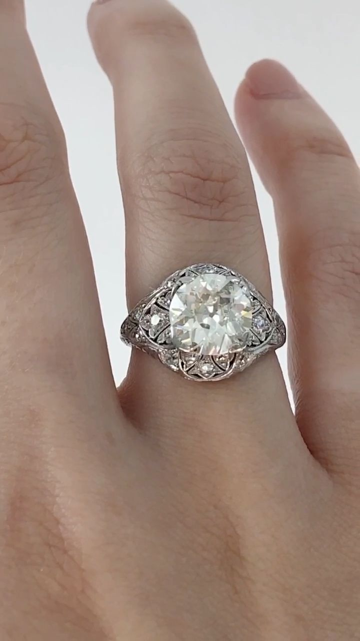 VERSAILLES ENGAGEMENT RING — Ashley Zhang Jewelry
