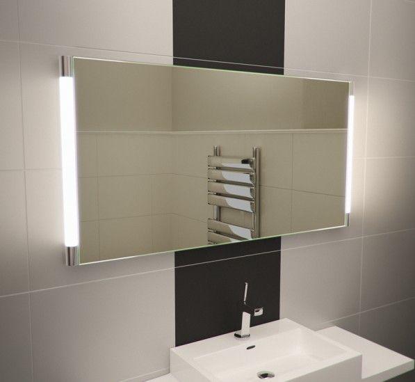 Saber Wide Led Light Bathroom Mirror