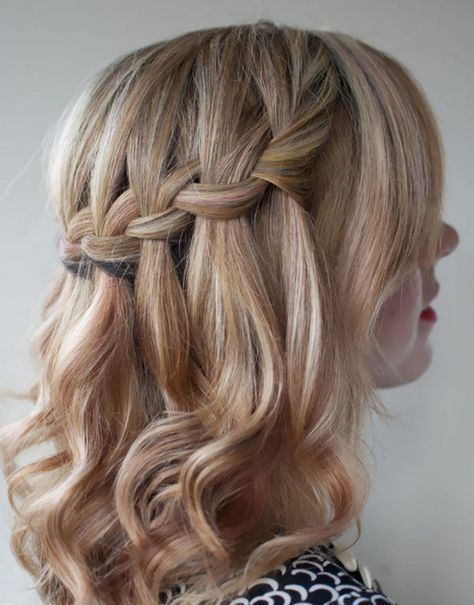 Genoeg wat te doen met lang haar ? creatief opsteekkapsel   lang haar + &GL63